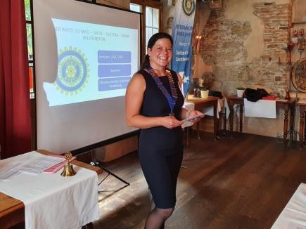 Susy Berger, Präsidentin IW Club Aarau